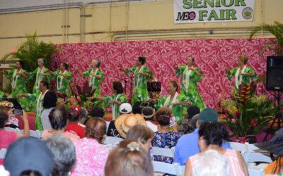 43rd Annual Maui County Senior Fair – Inside