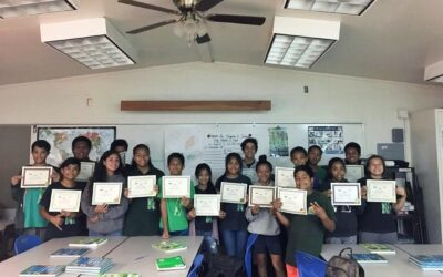 Financial Literacy class at Molokai Middle School