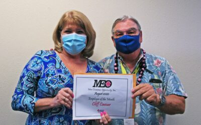 Congratulations to Cliff Caesar, MEO's August 2020 Employee of the Month!