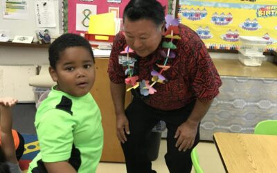 Mayor Visits Wailuku B