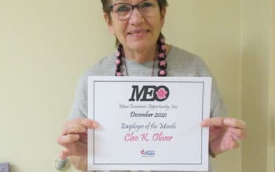 Congratulations to Kai Oliver, MEO's December 2020 Employee of the Month!