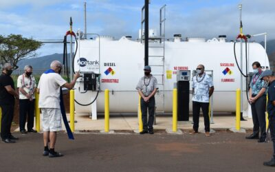 New Hawaii Fueling Network facility blessed at MEO baseyard