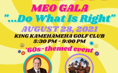 MEO gala now set for Aug. 28