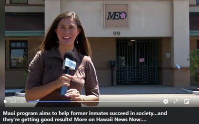 Hawaii News Now report on MEO Inmate transition program