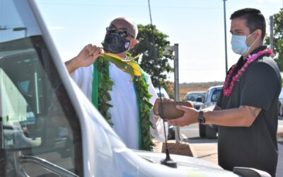 10 new Maui Bus paratransit buses blessed